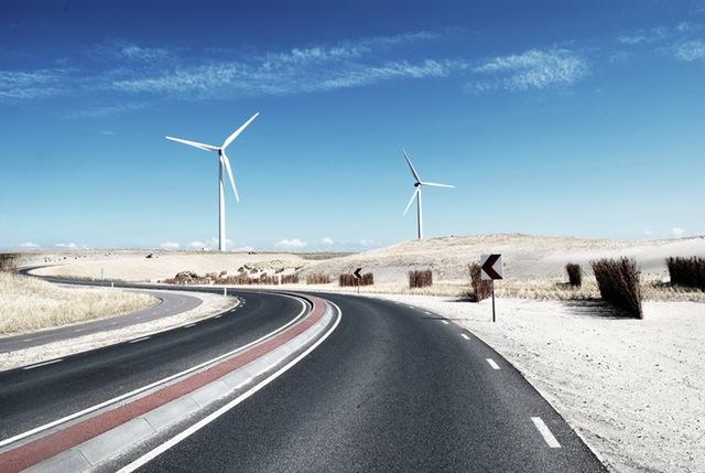 Road street desert industry
