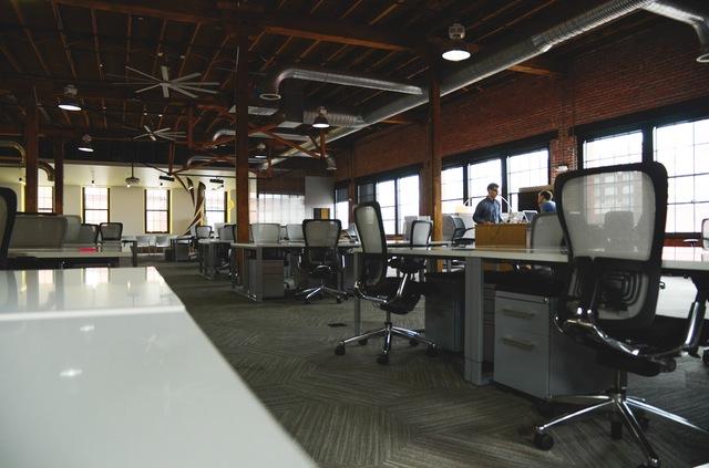 Space desk workspace coworking